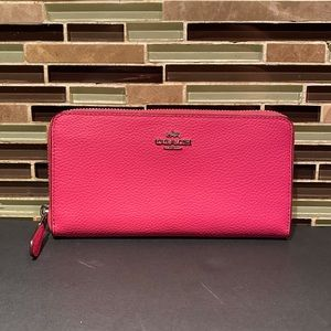 Coach Pink Envelope Wallet